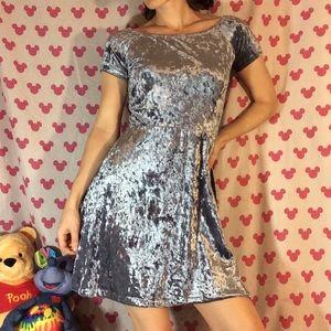 love...ady Dresses - Cinderella Inspiration Light Blue VELVET Dress